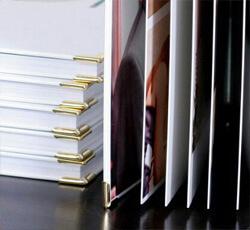 фотобук с изображениями, открытый фотобук