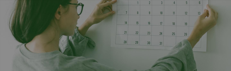 Фон календари